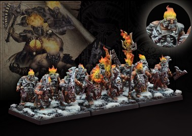 Flame Berserkers - Dweghom - Light Infantry - Conquest