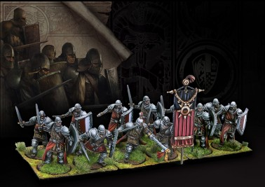 Men-at-Arms - The Hundred Kingdoms - Medium Infantry - Conquest