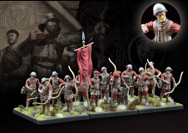 Militia Bowmen - The Hundred Kingdoms - Medium Infantry - Conquest