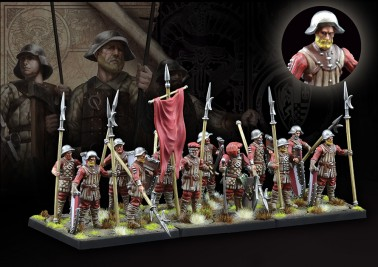 Militia Pikemen - The Hundred Kingdoms - Medium Infantry - Conquest